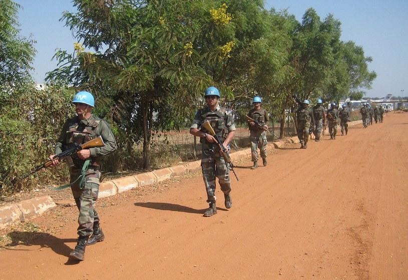 Żołnierze ONZ w Sudanie Płd. /AFP