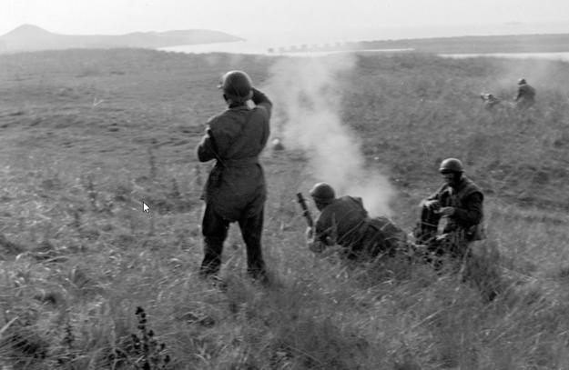 Żołnierze Pierwszej Samodzielnej Brygady Spadochronowej /Z archiwum Narodowego Archiwum Cyfrowego