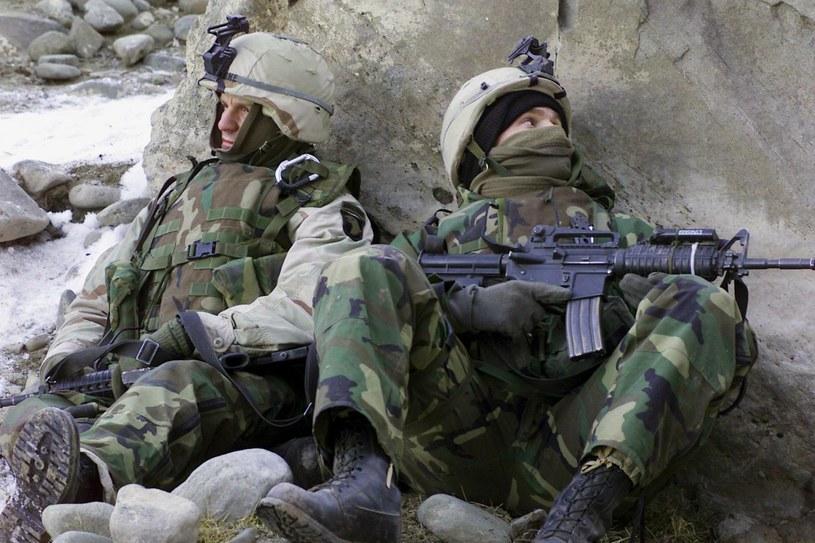 Żołnierze US Army /DAVID MARCK, JR.    /PAP/EPA