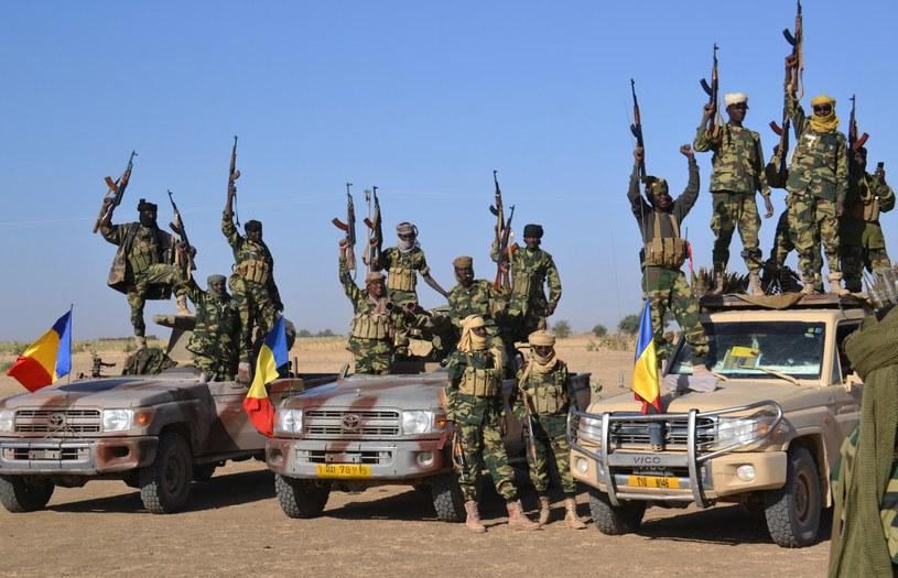 Żołnierze z Czadu weszli w skład międzynarodowej grupy, która ma zatrzymać Boko Haram /AFP