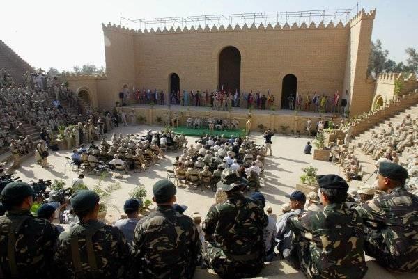 Żołnierze z Wielonarodowej Dywizji Centrum Południe przenieśli  się z Bazy Babilon /arch. AFP