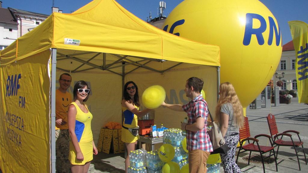 Żółta wata cukrowa od RMF FM //RMF FM