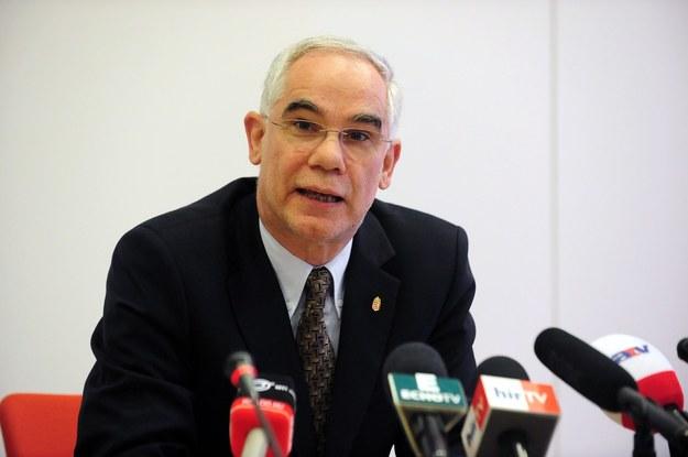 Zoltan Balog, minister ds. zasobów ludzkich Węgier /AFP