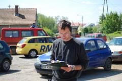 Żółty konwój RMF FM w Woli Przemykowskiej