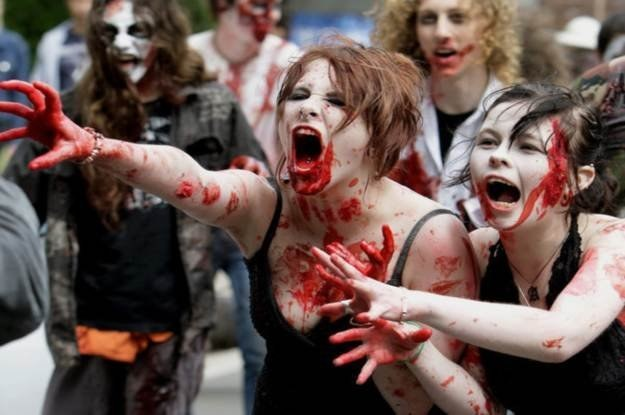 Zombie Walk /AFP