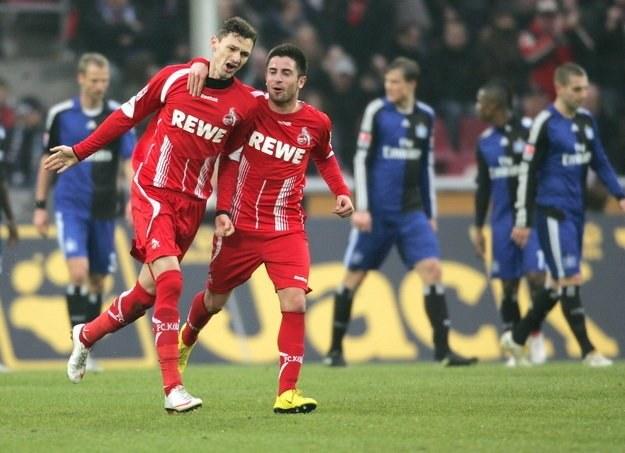 Zoran Tosić (z prawej) świetnie radzi sobie w barwach FC Koeln /AFP