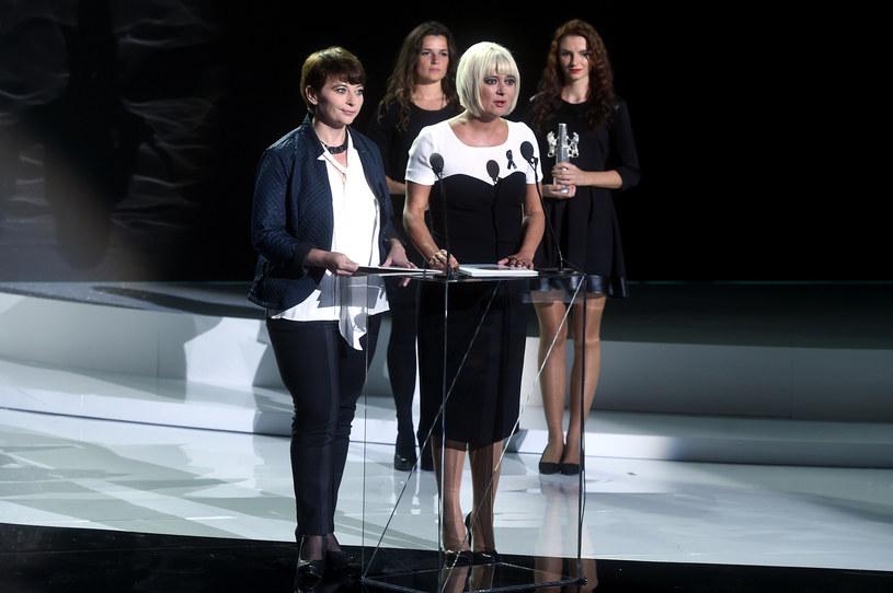 """""""Zrobię wszystko, żeby kontynuować z równą skutecznością misję rozpoczętą przez Agnieszkę Odorowicz, która jest nie tylko moją przyjaciółką, ale też źródłem inspiracji"""" - mówiła na Festiwalu Filmowym w Gdyni Magdalena Sroka /Kurniikowski /AKPA"""