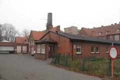 Zrujnowany oddział dziecięcy szpitala w Środzie Wielkopolskiej