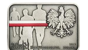 Zryw antykomunistyczny w Lubinie upamiętniony na monetach
