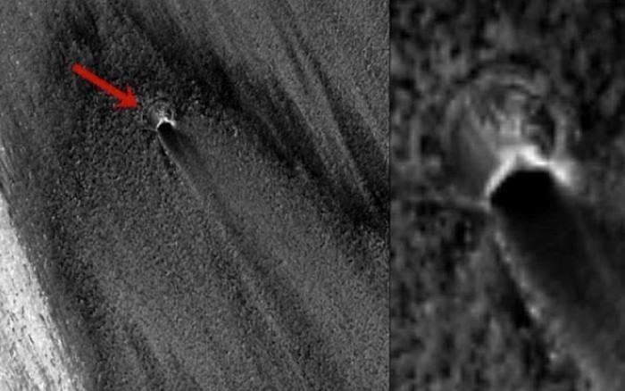Zrzut ekranu z Google Mars /NASA