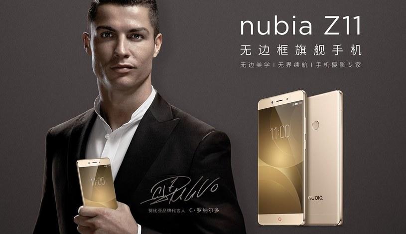 ZTE Nubia Z11 jest reklamowany przez Cristiano Ronaldo /materiały prasowe