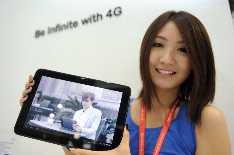 ZTE stawia na 4G/LTE - firma radzi sobie coraz lepiej /AFP