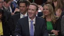 Zuckerberg złożył zeznania przed Senatem USA