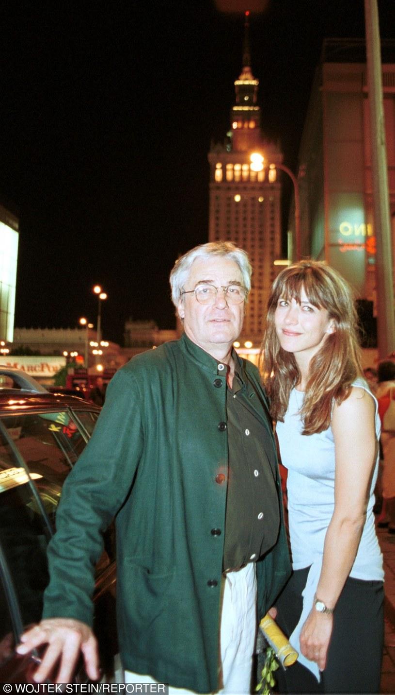 Żuławski i Sophie Marceu /- /East News