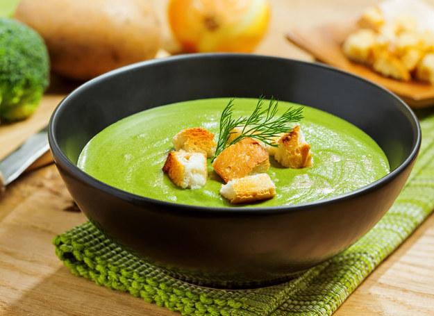 Zupa brokułowa /123RF/PICSEL