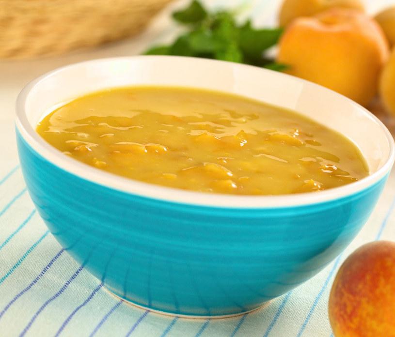 Zupa brzoskwiniowo-cytrynowa /123/RF PICSEL /©123RF/PICSEL
