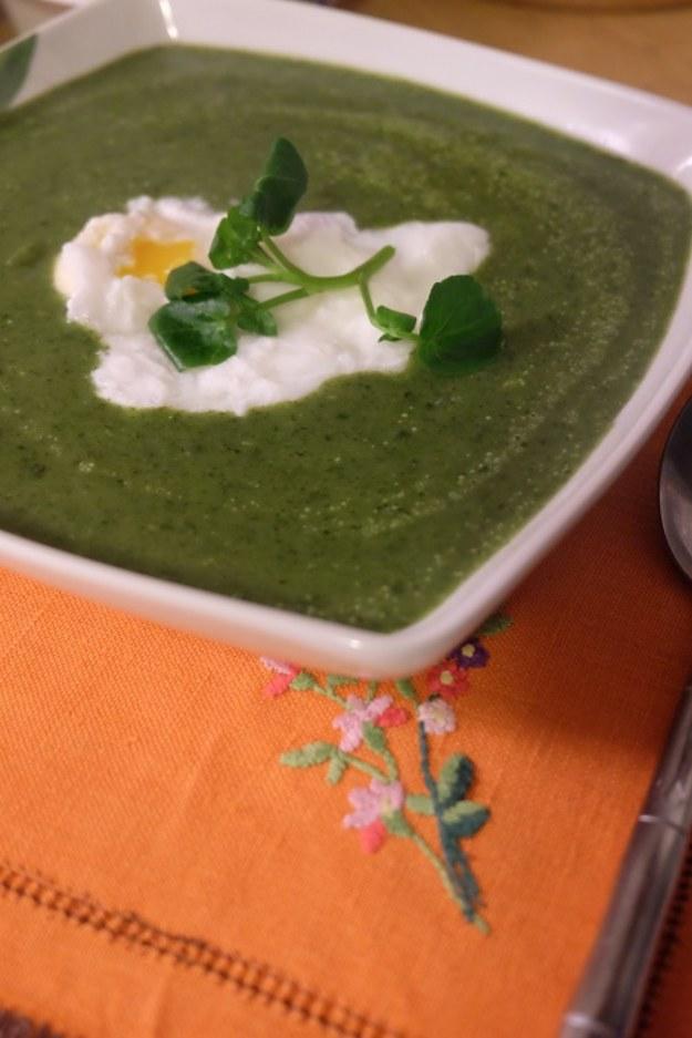 Zupa cresson