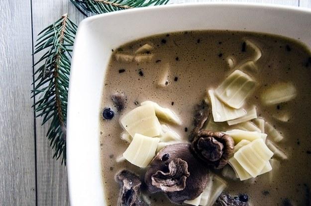 Zupa grzybowa, fot. Malwina Zaborowska /RMF24