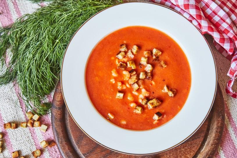 Zupa krem z krewetkami /materiały prasowe