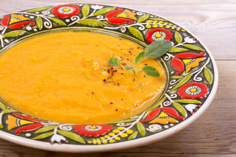 Zupa krem z marchwi pomoże ci dojść do siebie /123RF/PICSEL