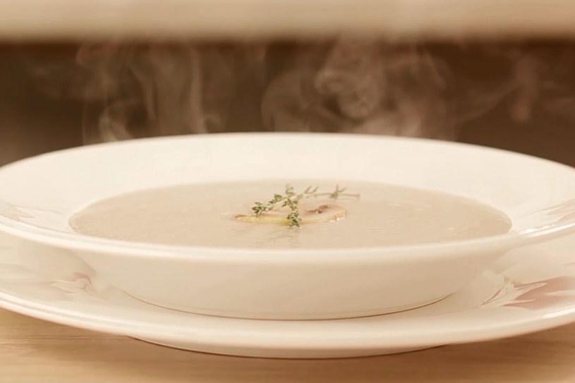 Zupa krem z pieczarek po prowansalsku /Styl.pl