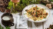 Zupa leśno-pieczarkowa