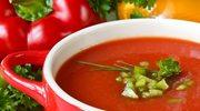 Zupa pomidorowa z papryką i kluseczkami