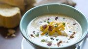 Zupa serowa z boczkiem