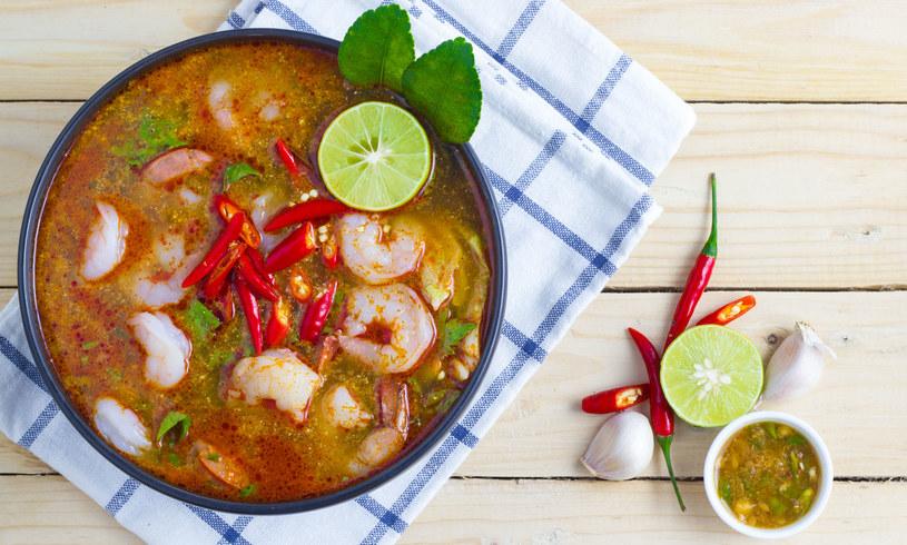 Zupa tajska /123RF/PICSEL