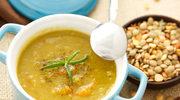 Zupa z brązowej soczewicy