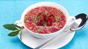 Zupa z buraka i porzeczki