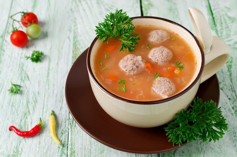 Zupa z klopsikami /©123RF/PICSEL