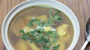 Zupa z kluskami francuskimi