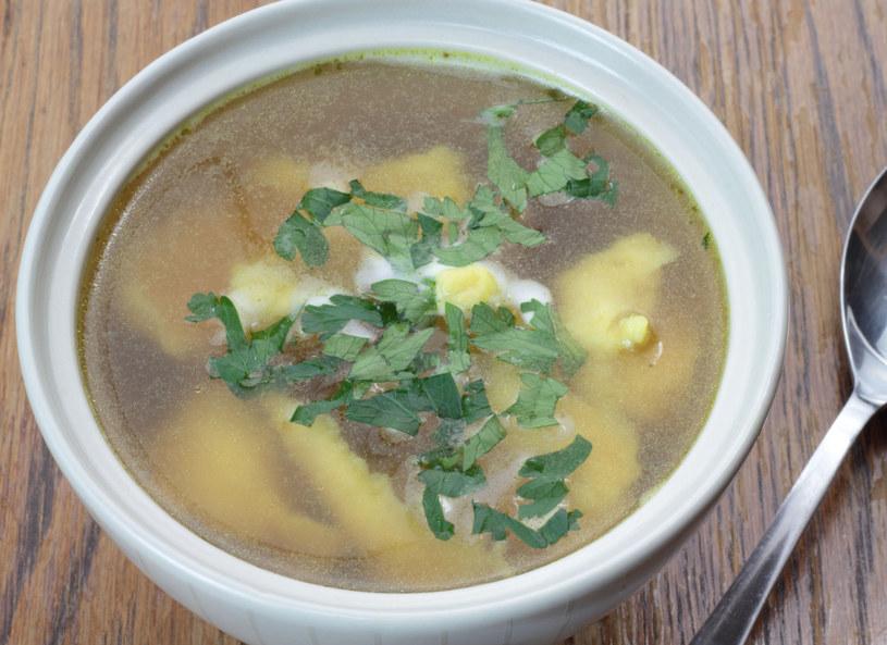 Zupa z kluskami /123RF/PICSEL