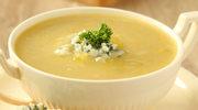 Zupa z serem pleśniowym