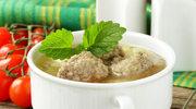 Zupa ziemniaczana z pulpetami