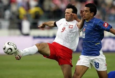 Żurawski marzy o występach na Euro 2008 /AFP