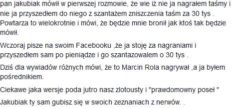 Żurom na Facebooku /