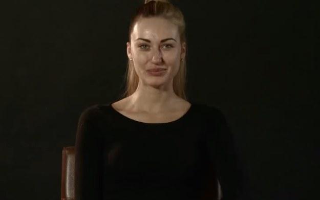 Zuzanna Brzezińska - fragment filmu z przemiany polskiej modelki w postać bohaterki z gry Dying Light /youtube.com /materiały prasowe