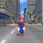 Zwiastun Super Mario Odyssey na silniku Grand Theft Auto IV