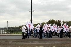 Związkowcy z Forum Związków Zawodowych