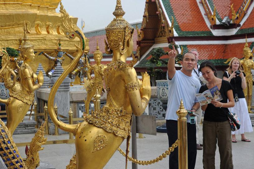 """Zwiedzanie świątyń należy do """"programu obowiązkowego"""" /AFP"""