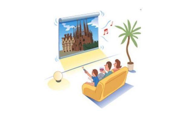 Zwijane OLED-y - w sam raz zamiast fototapety /HDTVmania.pl