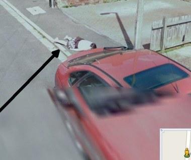 """""""Zwłoki"""" w Google Street View"""