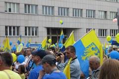 Zwolennicy autonomii Śląska przeszli ulicami Katowic