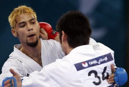 Zwolennicy Karate, chcą aby ten sport wreszcie doczekał się debiutu na igrzyskach /AFP