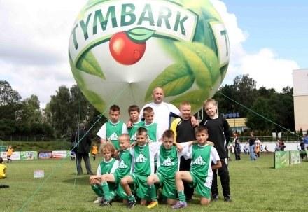 Zwycięska drużyna chłopców /materiały prasowe