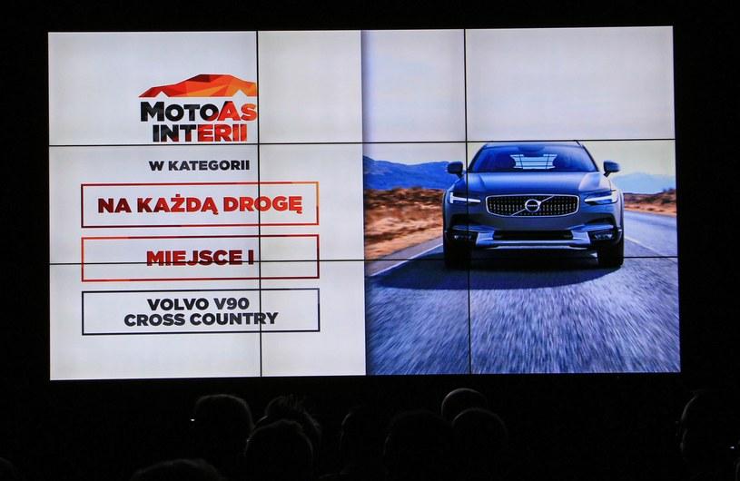 Zwycięzca kategorii Na każdą drogę - Volvo V90 Cross Country /INTERIA.PL