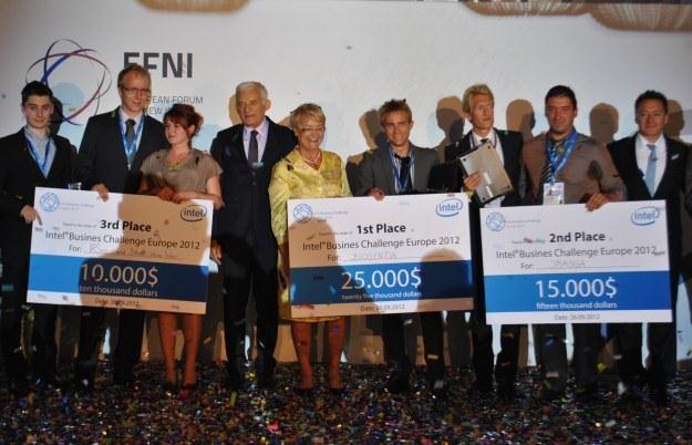 Zwycięzcy Intel Business Challenge mieli do zgranięcia pulę 50 tys. dolarów /INTERIA.PL