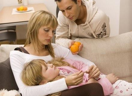 Zwykle ofiarą choroby zakaźnej padają dzieci,
